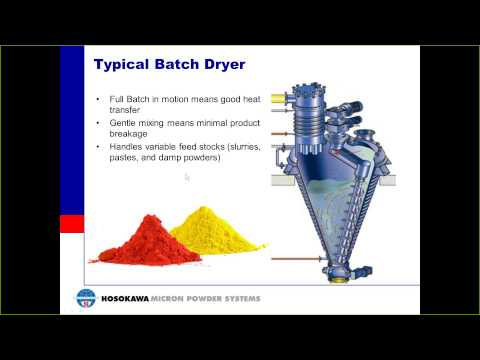 Basics of Material Drying Webinar