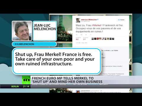 Keep quiet & mind your business: French politician shushes Angela Merkel