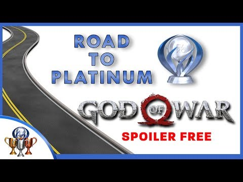 Road to Platinum  God of War Trophy Guide  Steps Required For Platinum Spoiler Free