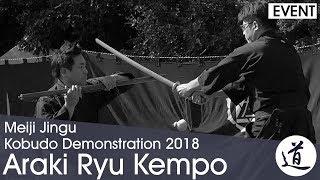 Araki Ryu Kempo - Suzuki Seiichiro - Meiji Jingu Kobudo Demonstration 2018