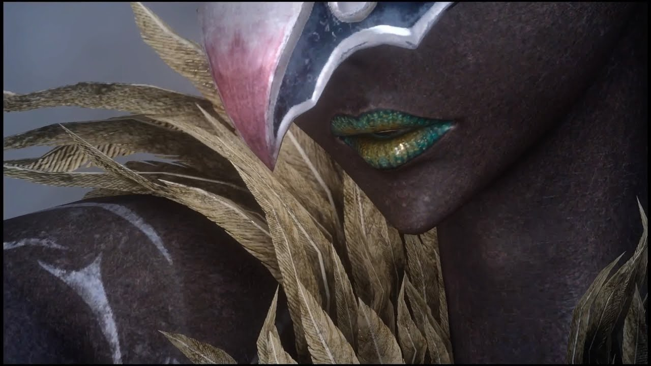 【FF15】新召喚獣「ガルーダ」召喚シーン【FF14コラボ】