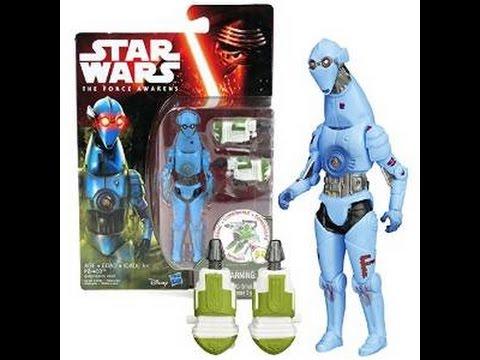Star Wars The Force Awakens PZ-4C0 Figure New!