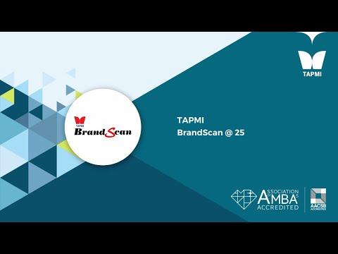 TAPMI BrandScan @ 25