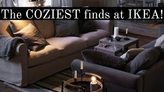 The COZIEST Finds @IKEA! Shop With Us + Haul | Fall/Winter 2021