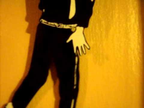 Michael Jackson VERY RARE Pendulum (Moving) Wall Clock