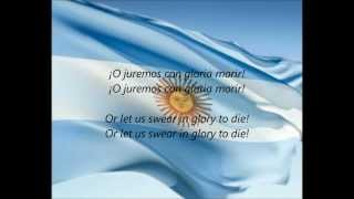 "Argentine National Anthem - ""Himno Nacional Argentino"" (ES/EN)"