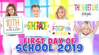 FIRST DAY OF SCHOOL | GET READY WITH ME | THE LEROYS