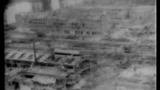 GHASTLY Bombed ruins of Hamburg Germany 1945