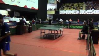 George Wang(A Pingpongmania) vs Jairo Bautista(Jalisco)