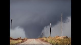 Tornado Canute Oklahoma October 9 2001