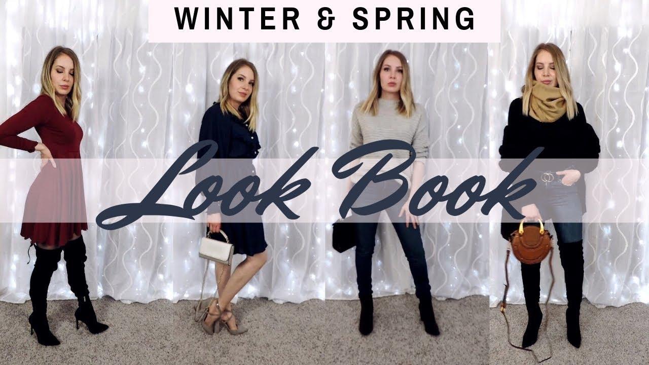 Winter & Spring Outfits 2019 // DESIGNER DUPES 9