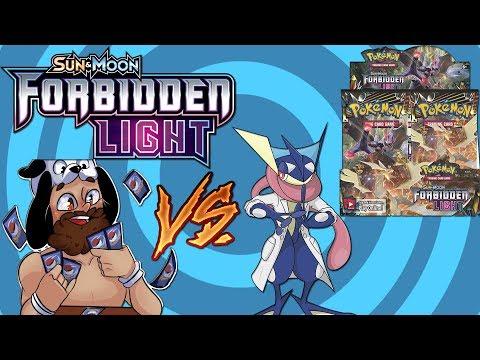 Pokemon Forbidden Light Booster Box Battle vs BigJigglyPanda!