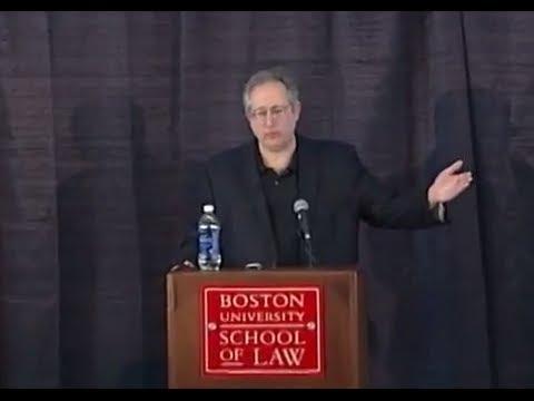 Jack M. Balkin Delivers Lunch Address at Boston University School of Law