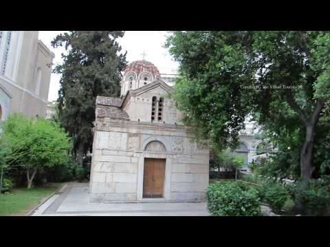 Walk around Athens City Centre in Greece 2