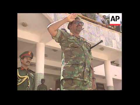 Sudan-Troops Parade As Tension With Egypt Grows