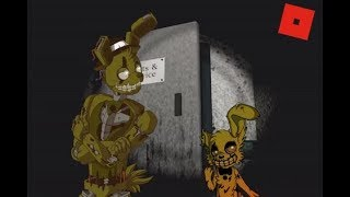 ROBLOX  The FNAF Story Chapter: 1 SPRINGTRAP