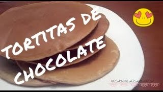 CÓMO HACER TORTITAS DE CHOCOLATE | Mónica Quintano