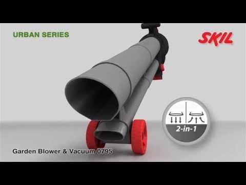 Обзор Электрический пылесос воздуходувка STIHL SHE 81 - YouTube