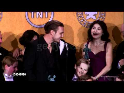 Michael Pitt Scolded at the SAG Awards
