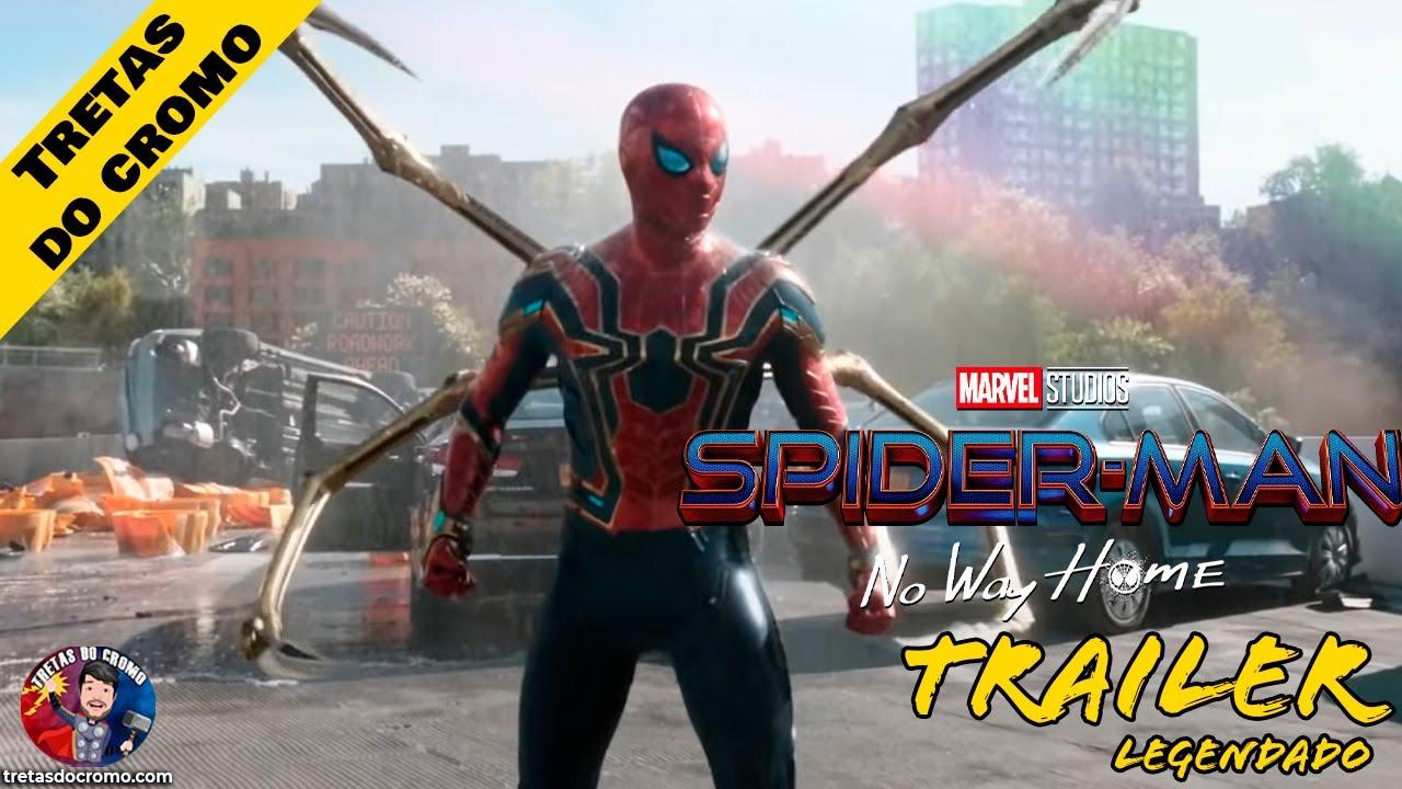 Spider-Man: No Way Home recebe oficialmente trailer