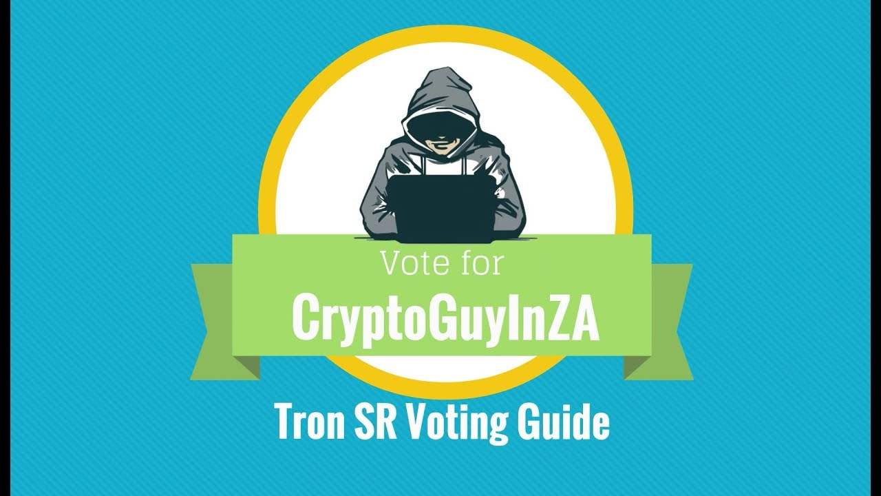 Tron SR Voting Guidance - Simple Easy Steps to Vote! - YouTube