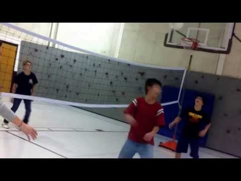 How we play volleyball at Gentry Middle School!!