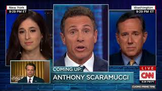 Santorum on Cuomo Prime Time: People no longer in gov't don't need to keep their security clearance