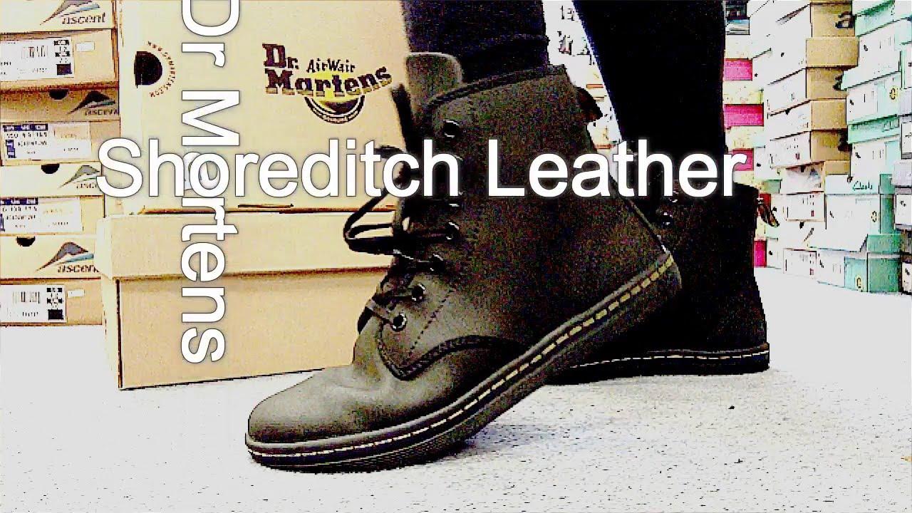 Dr Martens Shoreditch Black Leather