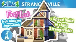 | SPEED BUILD w stylu STRANGERVILLE! + Przegląd obiektów | - The Sims 4 | SZCZERA RECENZJA |