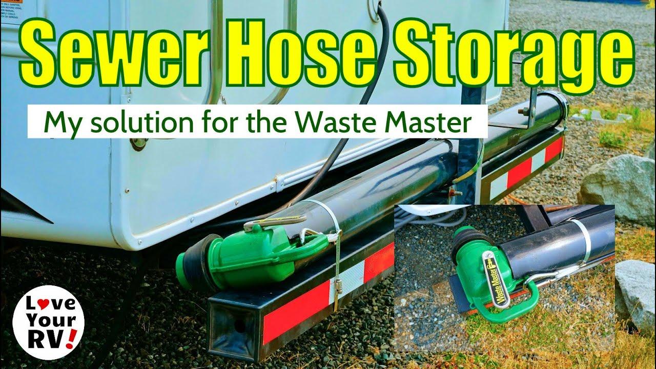 Waste Master Rv Sewer Hose Storage Solution Youtube