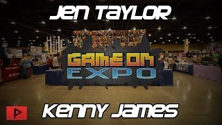 Jen Taylor & Kenny James - The Voices of Cortana and Bowser | Game On Expo 2019