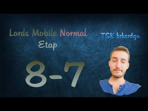 Lords Mobile Normal Etap 8-7
