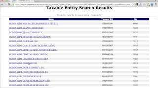 Texas Secretary State Business Search