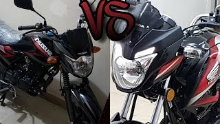Suzuki GR 150cc VS Honda CB150F |Review|Specs|Price|Comparison|