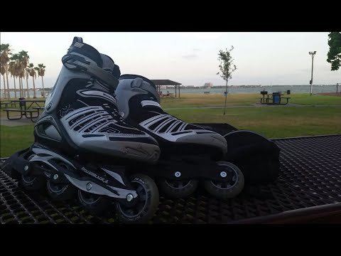 #74 Clear Lake inline skate with Rollerblade Spiritblades 6.0.....78 mm 80a hardness (Narrated)