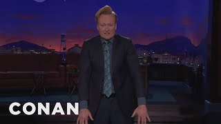 Conan's Jacket Doesn't Fit  - CONAN on TBS