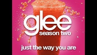 Glee - Just The Way You Are [LYRICS]