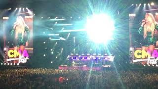 Carrie Underwood at Nissan Stadium - CMA Fest 2018 - video 2