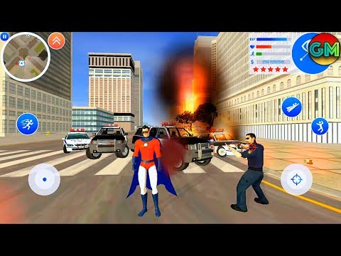 Gangster Town: Vice District #15 Superman Character | by Naxeex Studio | Android GamePlay FHD