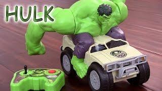 Avengers Hulk Smash Véhicule téléguidé Voiture radiocommandée Remote Control Jouets en français