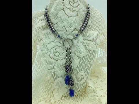 Fancy Tassel Necklace Tutorial