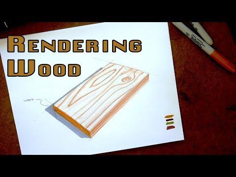 Marker Rendering Tutorial How To Render Wood Core77