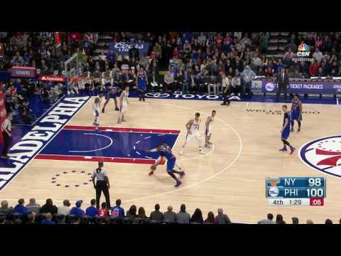 New York Knicks at Philadelphia 76ers - March 3, 2017