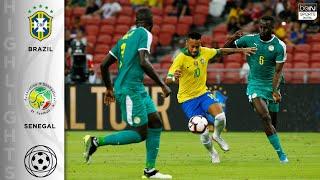 Brazil 1 1 Senegal   Highlights & Goals   10/10/19