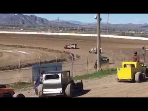 Pahrump Valley Speedway     Dwarfcar Heat 3