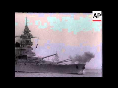 French Fleet Manoeuvres Atlantic