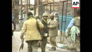 Chechnya - Russian Ministers In Grozny