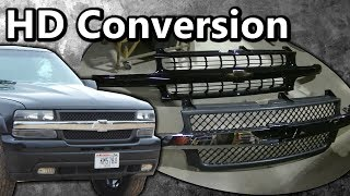 "2000 Silverado 1500 ""2500HD Front End Conversion"" How To"