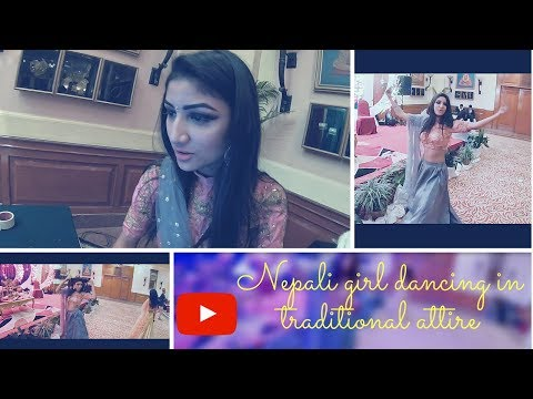 Nepali Girl | Dancing | English Songs | Traditional Attire | COVER |