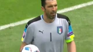 Italy vs Sweden 1-0 EURO 2016 All Goals & Highlights 17 06 2016 HD